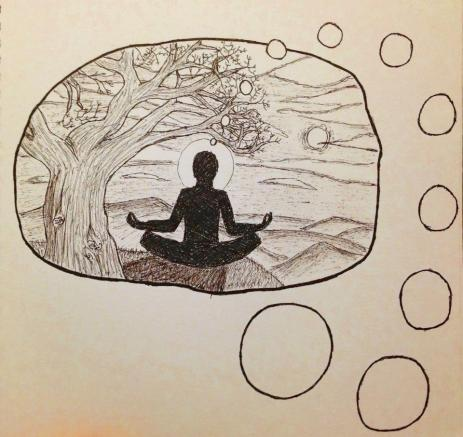 Inner peace.