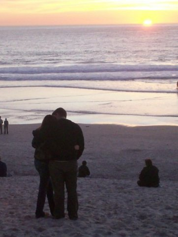 My favorite picture from 2008, Carmel, beach, friends, Alex. Some things don't change so much.