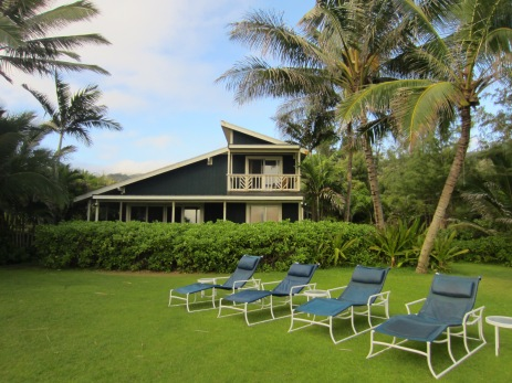 Our perfectly Hawaiian retreat.