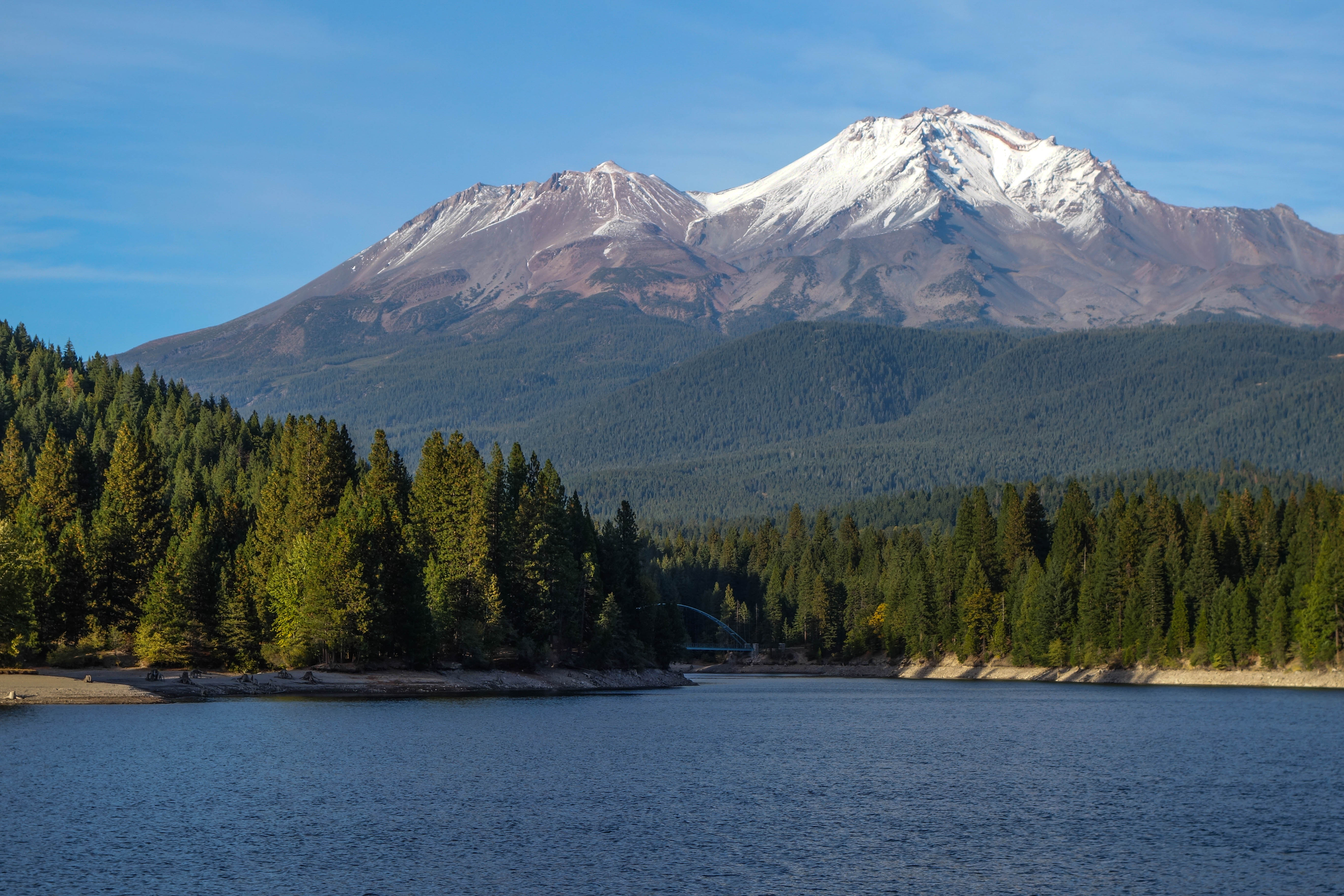 mount shasta in the summer
